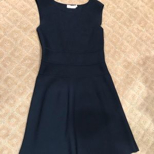 Tory Burch black sleeveless A-line dress